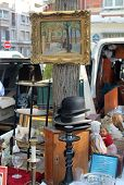 Paris Flea Market Vendor's Stall