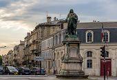 Monument Of Louis-urbain-aubert De Tourny In Bordeaux, France