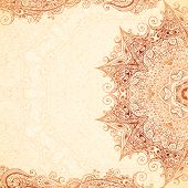 Vintage vector hand-drawn background. poster