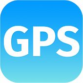 Gps Blue Icon For Web Or Phone
