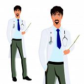 Man doctor portrait