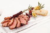 foto of roast duck  - Roasted duck - JPG