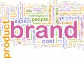 Marke marketing Hintergrund Konzept