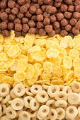 cereal mix as background texture