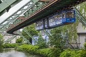 Wagon Of Wuppertal Suspension Railway