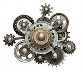 picture of gear  - Stylized mechanical collage - JPG