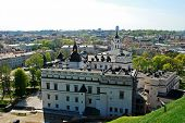 Vilnius City View From Gediminas Castle.