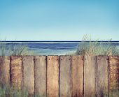 Beach and Fence