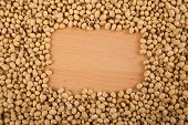 Soybeans With Rectangular Copy Space