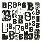 Set Versions Of Letters B