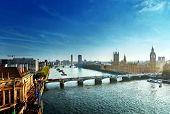 foto of westminster bridge  - Westminster aerial view - JPG