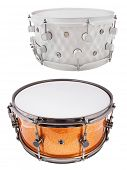 stock photo of vaudeville  - The image of a drum under a white background - JPG