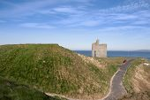 Railed Path To Ballybunion Beach And Castle