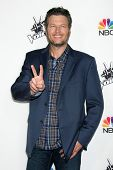 LOS ANGELES - DEC 8:  Blake Shelton at the NBC's