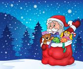 Christmas outdoor topic 1 - eps10 vector illustration.