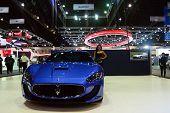 Nonthaburi, Thailand - December 06: The Maserati Gran Turismo Mc Stradale Is On Display At Thailand
