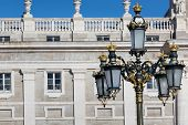 The Palacio Real De Madrid Or Royal Palace Of Madrid Is The Official Residence Of The Spanish Royal