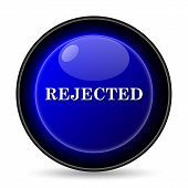 image of rejection  - Rejected icon - JPG