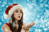 Santa Helper Girl