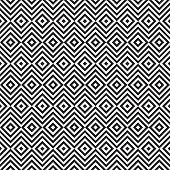 Ethnic tribal zig zag and rhombus seamless pattern.