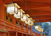 foto of dory  - Richly colored Fushimi Inari Taisha Shrine - JPG