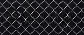 Frozen Metal Fence