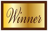 Winner Plaque