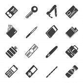 Silhouette Simple Vector Object Icons