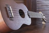 image of memento  - Soprano Ukelele an exotic wooden stringed instrument of the Hawaiian Islands - JPG