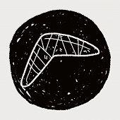 picture of boomerang  - Boomerang Doodle - JPG