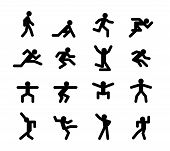 pic of acceleration  - Human action poses - JPG