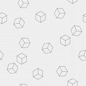 picture of cube  - Geometric - JPG