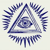 pic of freemason  - All seeing eye - JPG