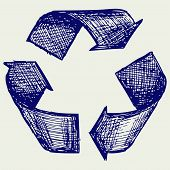 picture of reuse  - Reuse symbol - JPG