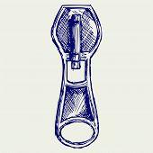 picture of zipper  - Zipper - JPG