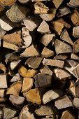 foto of firewood  - firewood  - JPG