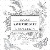 foto of shabby chic  - Save the Date  - JPG
