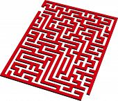 Find the way out from this 3D maze