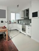 kitchen with place to eat