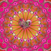 Sommer Liebe mandala