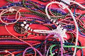 Colorful Necklaces And Bracelets For Sale. poster