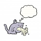 belching cat cartoon
