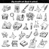 Big doodle set: science and books