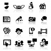 picture of people icon  - Icons set social media - JPG