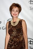 LOS ANGELES - JAN 10:  Annie Potts arrives at the ABC TCA Party Winter 2012 at Langham Huntington Ho