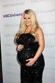LOS ANGELES - JAN 6:  Jessica Simpson arrives at the NBC Universal All-Star Winter TCA Party at The