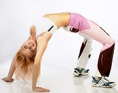 picture of athletic woman  - attractive fitness woman - JPG
