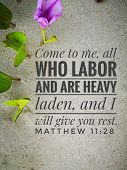 Daily Bible Quote From Bible Verse Design For Christianity. poster