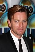 LOS ANGELES - JAN 15:  Ewan McGregor. arrives at  the HBO Golden Globe Party 2012 at Beverly Hilton