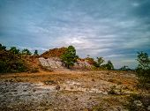 The Alone Hill View At Bandar Lampung Indonesia poster